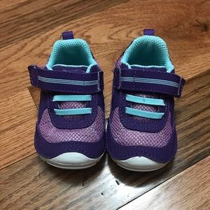 Purple Stride Rite Shoes